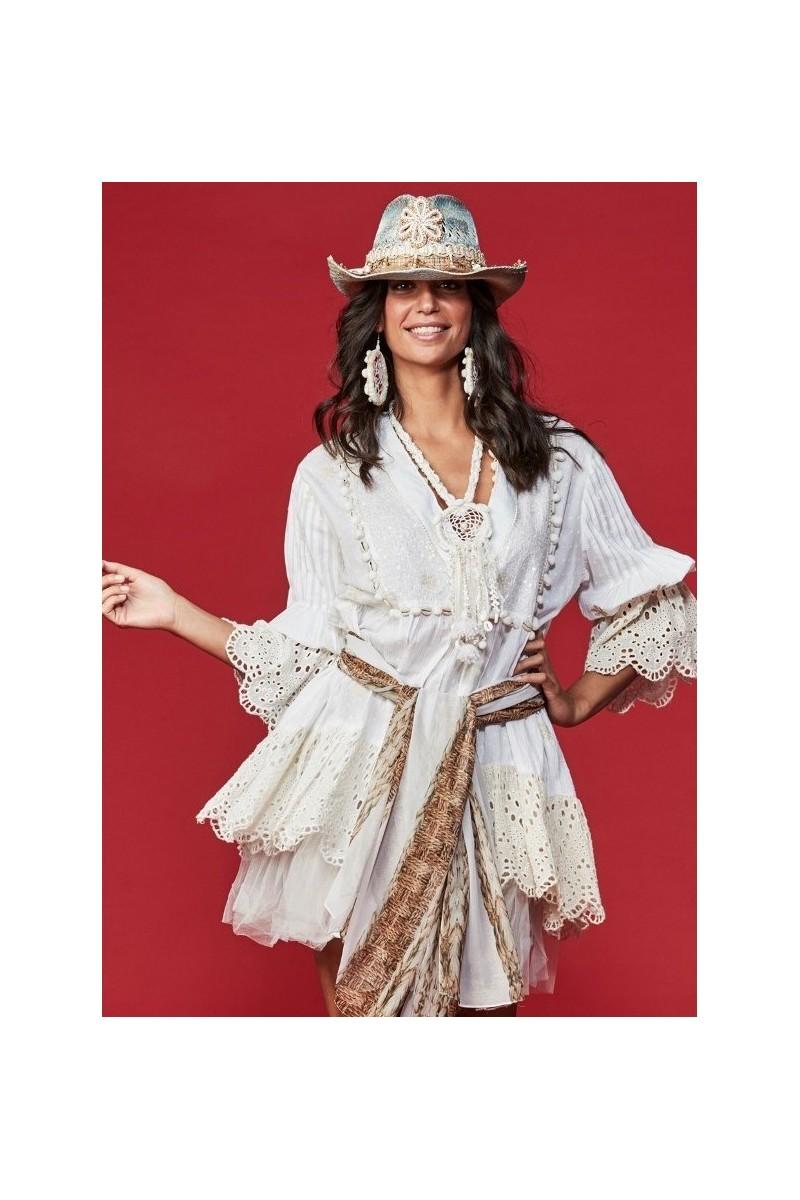 Antica Sartoria Vestido Paillettes