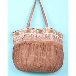 Boho chic bag by Antica Sartoria