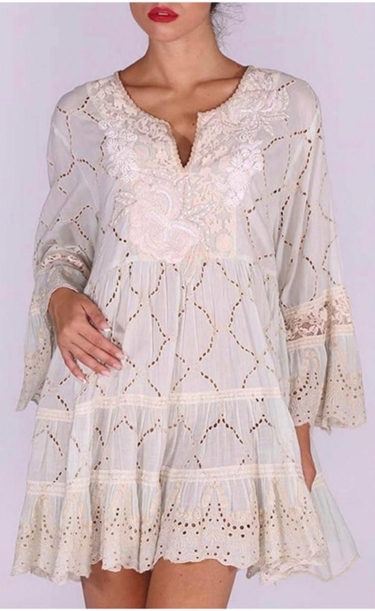 Mint Dress by Antica Sartoria