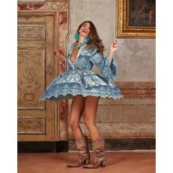 vestido saint tropez antica sartoria