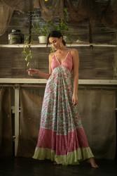 endless dress miss june pink front 2