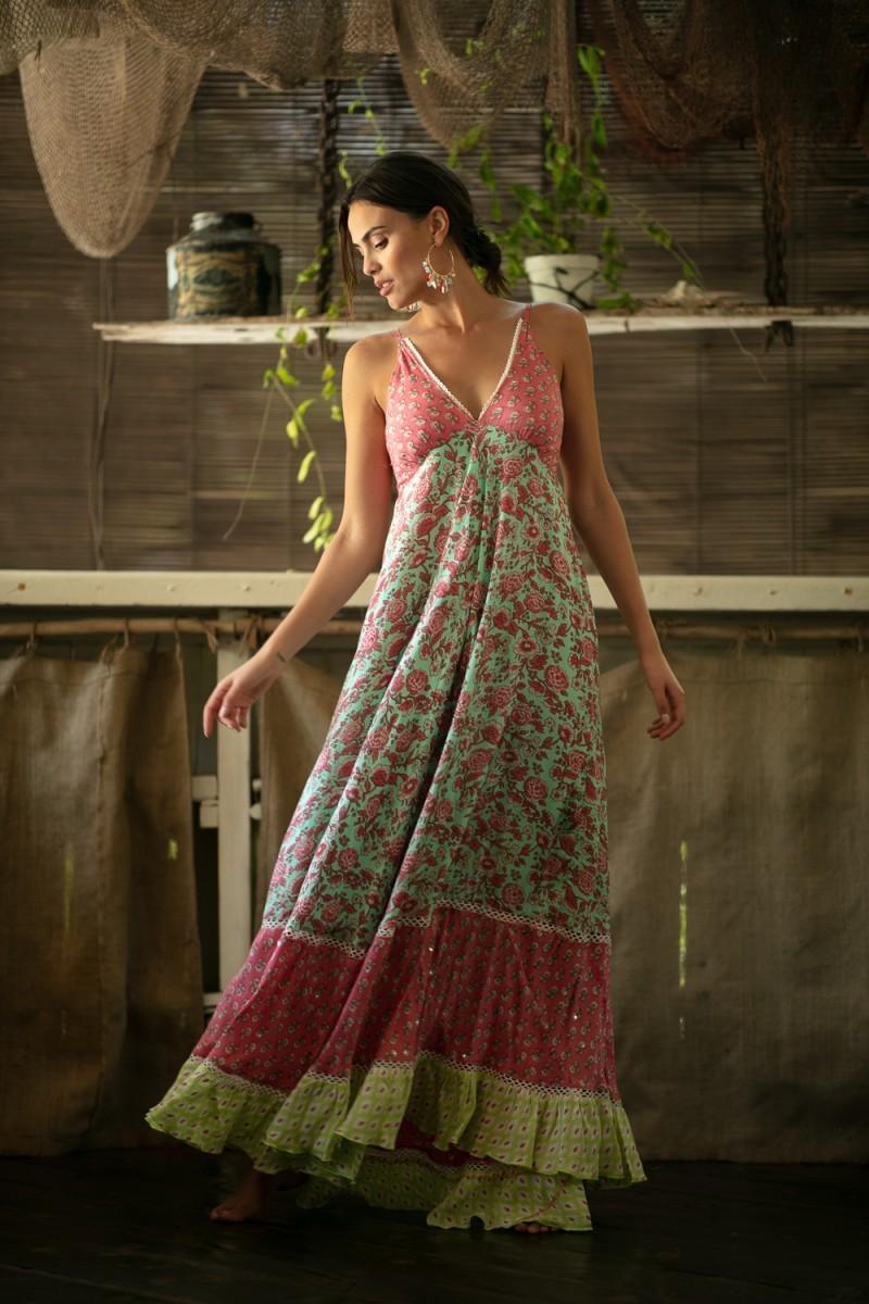 endless dress miss june pink front