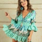 Vamos dando vidilla a nuestra web con novedades. En este caso, una blusa-vestido o vestido-blusa. Feliz día.😘 https://mireiasdream.com/es/vestidos/267-480-vestido-capri-antica-sartoria.html#/4-talla-unica/29-color-turquesa  #mireiasdream #anticasartoria #summercollection #ss2020 #modamare2020 #antica #boho #bohochic #ibizafashion #love #instalove #peñiscola #peniscola #benicarlo #bohochicstyle #shoponline #shoppingonline #positanostyle